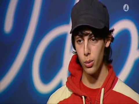 "Darin - idol 2004 , ""God must have spent a little more time on you"""