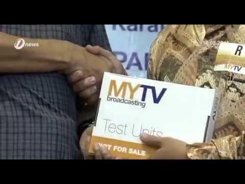 250 Ribu Decorder Percuma Mytv Broadcasting Untuk Penduduk Sabah