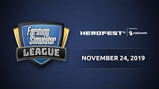Farming Simulator League @ Herofest 2019