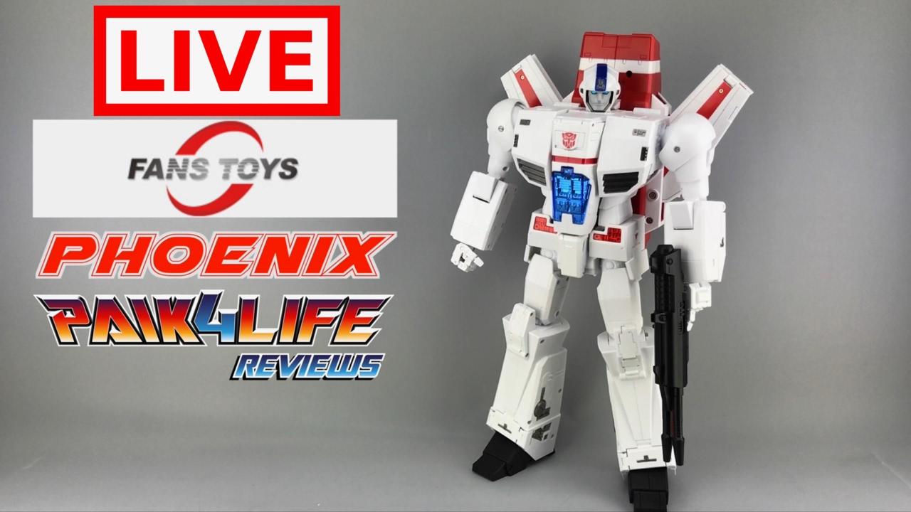 Transformers Fans Toys Phoenix Livestream // P4L Reviews