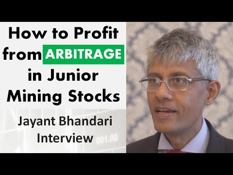 Jayant Bhandari | How to Profit from Arbitrage in Junior Min