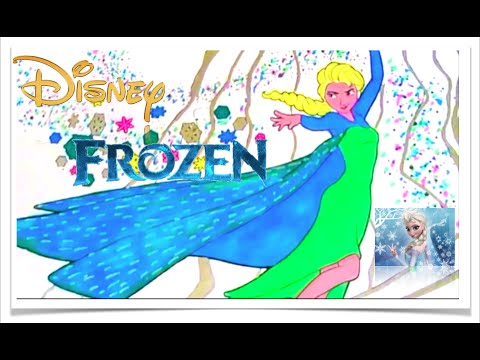Elsa Disney Frozen MAGIC Coloring Fun With ColorCraze Arts For Kids Book