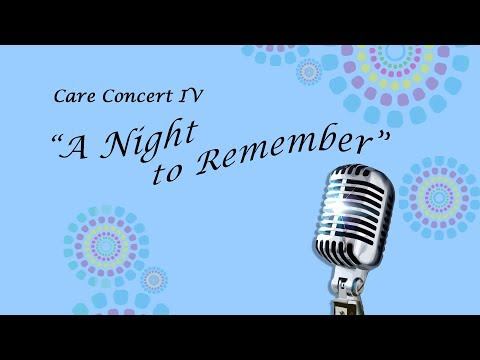 Care Concert 2015 - A Night to Remember