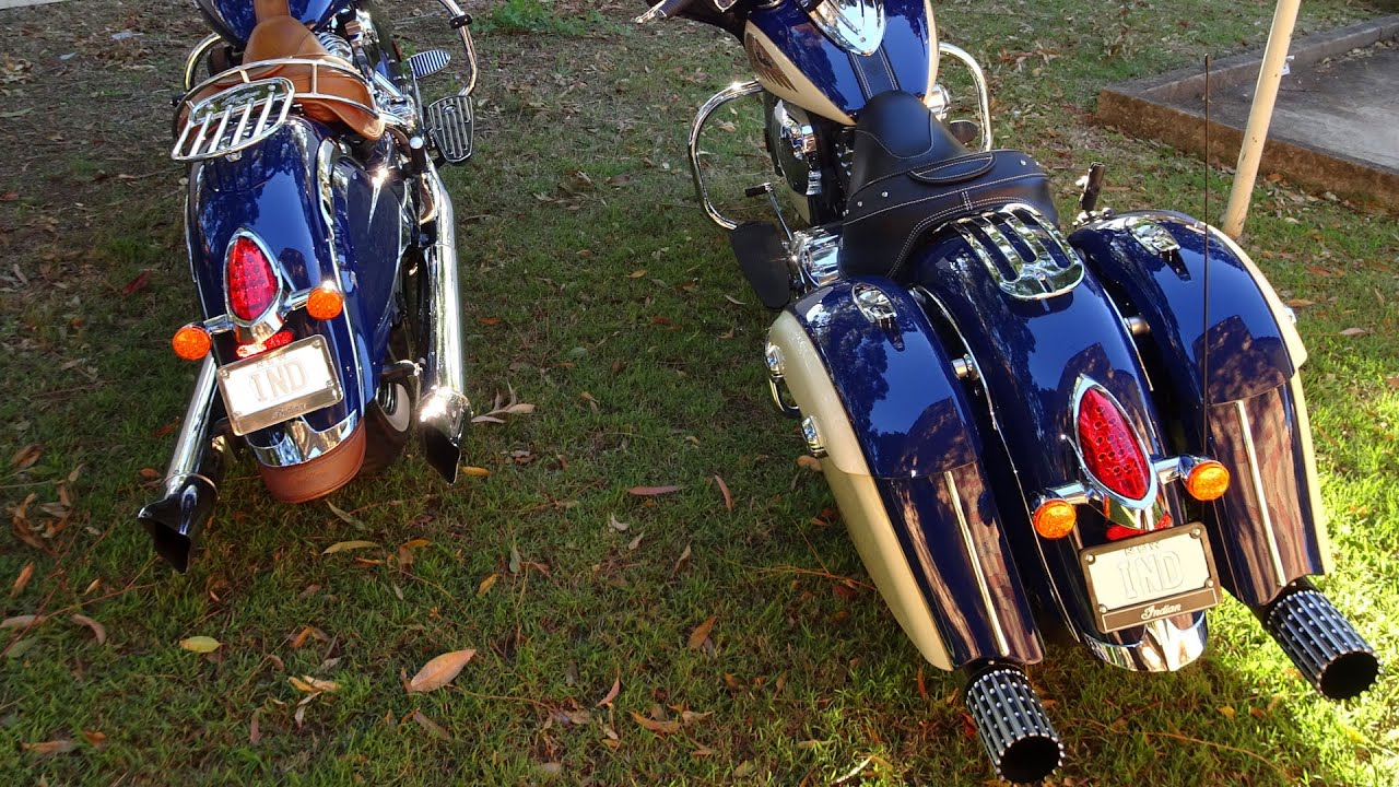 Rush Indian Exhaust - comparing 3' baffle to 2.5' baffle
