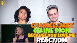 Video Charice/Jake & Celine Dion - Duet at Madison Square Garden | REACTION download MP3, 3GP, MP4, WEBM, AVI, FLV April 2018