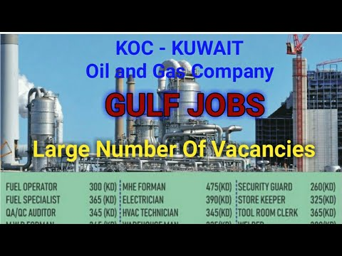 Gulf Jobs, Koc Kuwait Jobs, Oil and gas Company Jobs - YouTube