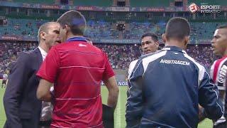 CENAS LAMENTÁVEIS! Milton Mendes dá cabeçada à la Zidane!