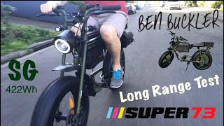 Super 73 SG Retro eBike Long Range Distance Test - Andrew Penman EBoard Reviews- Vlog No.155