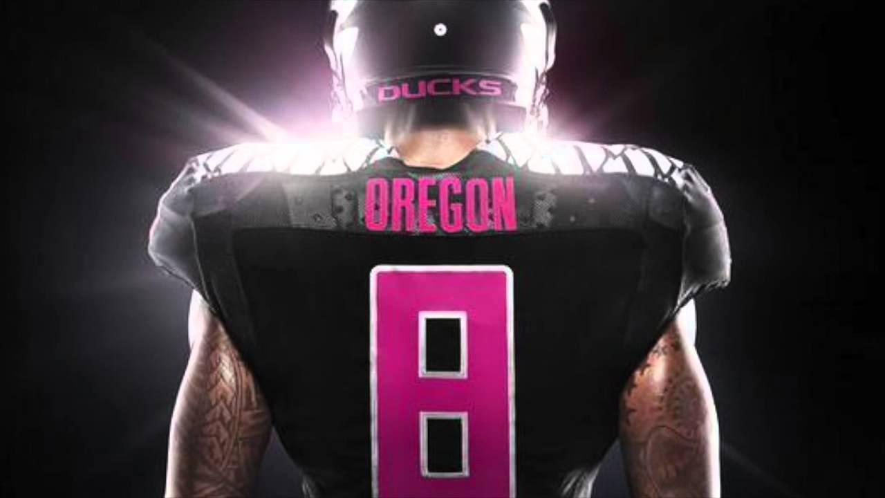reputable site 19f88 1aa5d Oregon breast cancer uniforms 2014