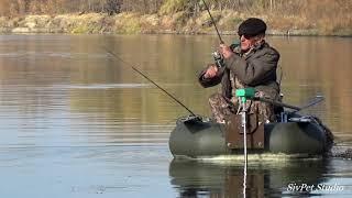 Отличная рыбалка . Хорошая погода . Река Дон 17 октября 2020 .
