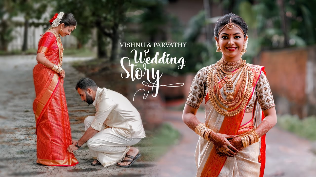 KERALA Traditional Wedding Film | Vishnu & Parvathy