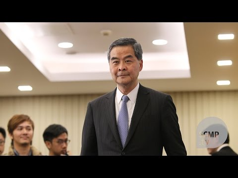 CY Leung: what President Xi said to me were basically words of encouragement