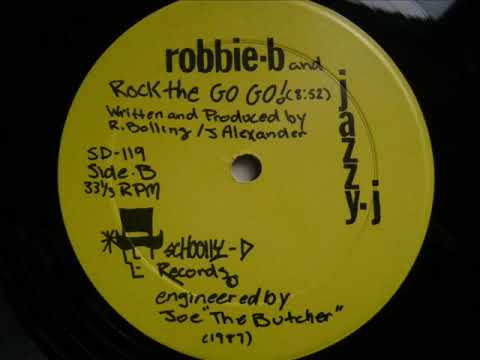 Robbie B & Jazzy J - Rock The Go Go (Scratch Version+Vocal) 1987
