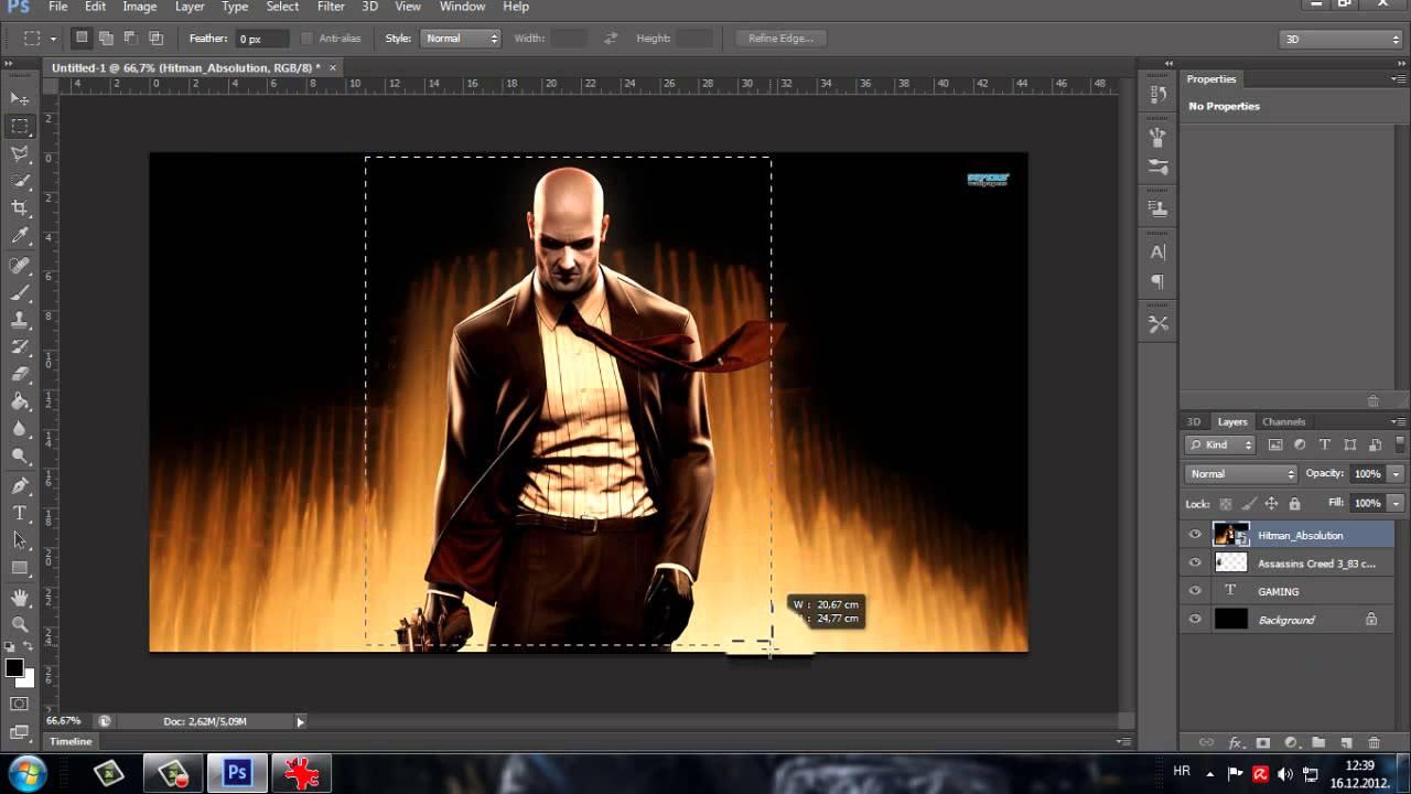 New Text Edit With Photos 2012 - Adobe Photoshop CS6 |HD ...