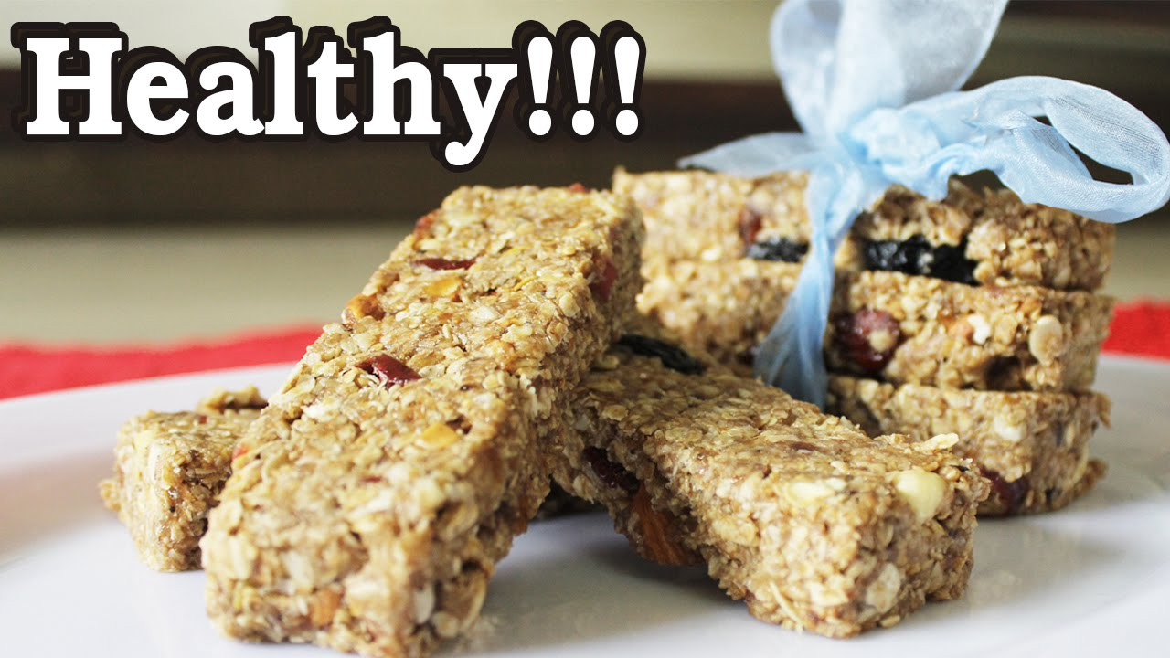 How to make healthy snack bar recipe youtube for How to make homemade healthy snacks