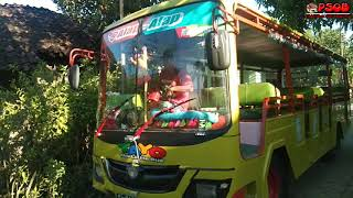 OKLIK LILY - UPIN & IPIN NYARTER BUS TAYO - THE LITTLE BUS TAYO, UNBOXING KOSTUM TINKY WINKY & DIBSY