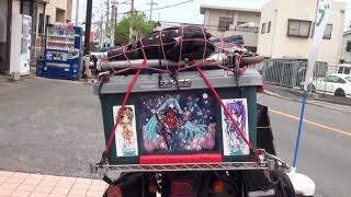 痛車 YAMAHA セロー 250  DigInfo serow 250 北海道函館から 旅鴉 エゾっち thumbnail