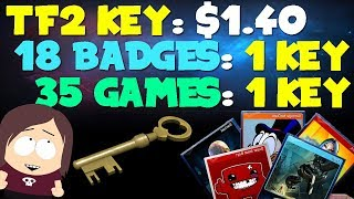 [Guide] Steam Card Bots, Game Bots, Cheap TF2 Keys to Level Up Cheap
