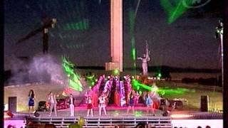 Песня 'Беларусь мая'. Участники проекта 'Я пою'.mpg