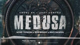 Jhay Cortez - Medusa (Remix) Ft. Myke Towers, Anuel AA, J Balvin, Bad Bunny, NLE Choppa