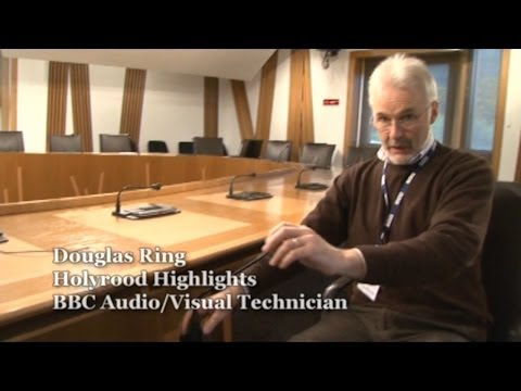 Scottish Parliament Broadcasting Unit - Behind the Scenes - Day in the Life of Holyrood Highlights