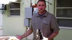 How to clean your  ac condensate drain line  in 5 minutes .Tool available on Amazon keyword :Diyvac