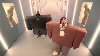 "Kanye West - Lil Pump - ""I Love It"" (Roblox Music Video)"