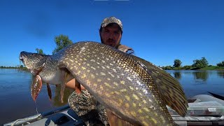 ЩУКА НА КАЖДЫЙ ЗАБРОС Рыбалка мечты на джиг и не огруз Рыбалка 2021 на Оби
