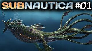 SUBNAUTICA GAMEPLAY PC LIVE - PART 1