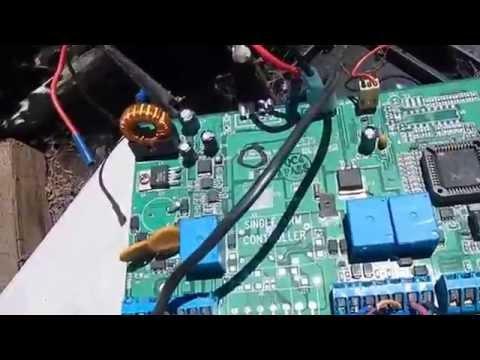 Mule Gate Opener Control Panel Repair Assessment  Is It