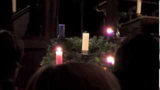 Lighting the Advent wreath - Advent 3
