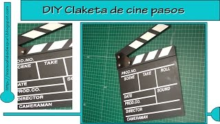 DIY claketa de cine