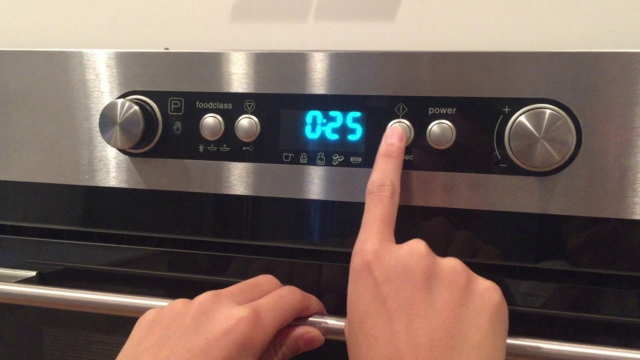 How To Operate Ikea Nutid Microwave Oven Part 3