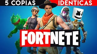 5 NEW GAMES LIKE FORTNITE! FREE on ANDROID & iOS ? 5 Copies of Fortnite for Cell Phones 2019