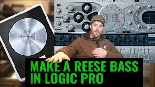 How to Make a Drum and Bass Reese in ES2 Logic pro tutorial