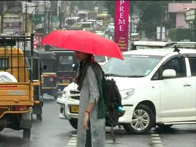 Heavy rain in southern Kerala