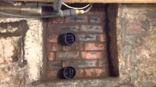 Cellar ventilation finished