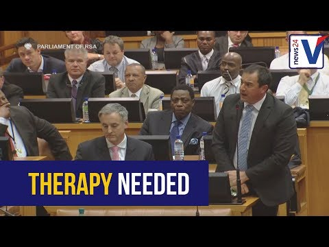 WATCH: Steenhuisen to Mbete - you need therapy