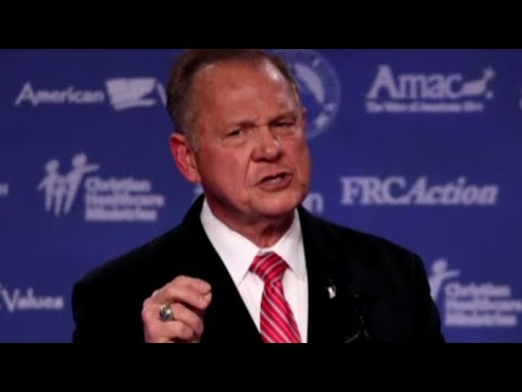 Political fallout after Roy Moore accused of misconduct with minors