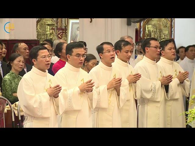Thánh lễ Truyền Chức Linh mục Tổng Giáo phận Hà Nội Năm 2018 trực tiếp