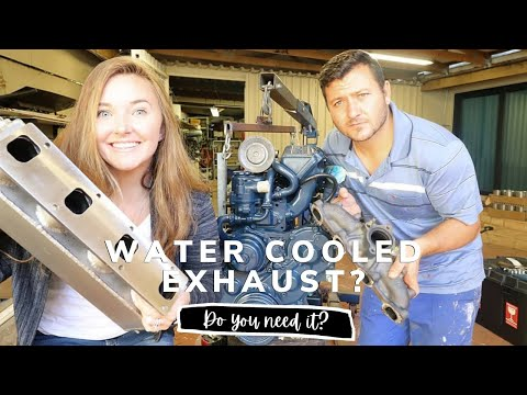 Why your engine needs a water cooled exhaust! [Yacht Refit & Restoration Week 68] (Ep.77)