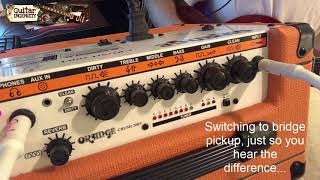 Orange Crush RT20 Review, Orange Mini-Amp RT 20 Pros and Cons