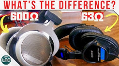 Low vs High Impedance Headphones Compared