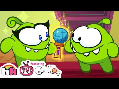 Best Of Om Nom Stories S10 Ep10: Supernoms - Magic Mic | Cartoon For Children By HooplaKidz TV