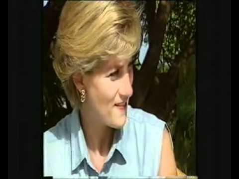 Princess Diana talks casually in Angola~ Rare!