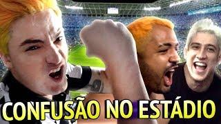 CAUSAMOS CONFUSÃO NO ESTÁDIO!