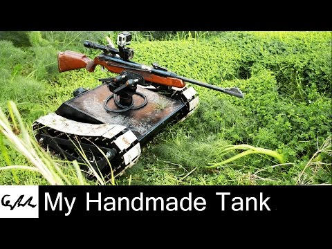 My Handmade Tank (A big thank you for the 10,000 subscribers)
