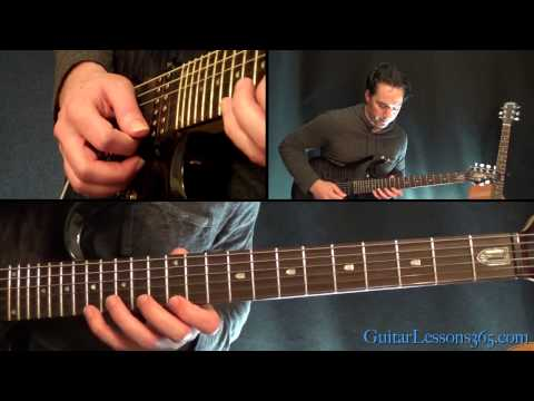 Master of Puppets Guitar Lesson Pt4  Metallica  Main Solo