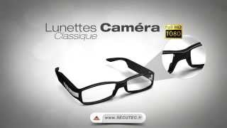 LUNETTES CAMERA ESPION FULL HD 1080P [SECUTEC.FR]
