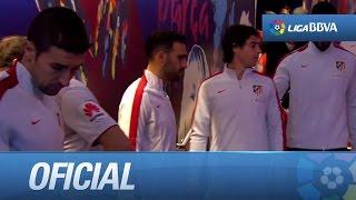 Túnel de FC Barcelona - Atlético de Madrid